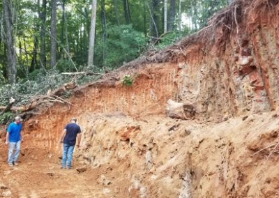 Excavating in North Georgia