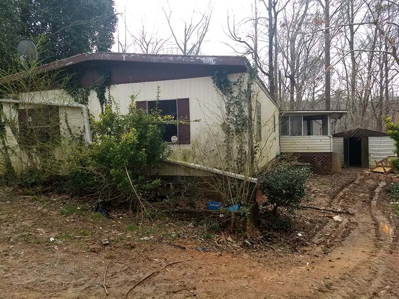 Demolition in Blue Ridge