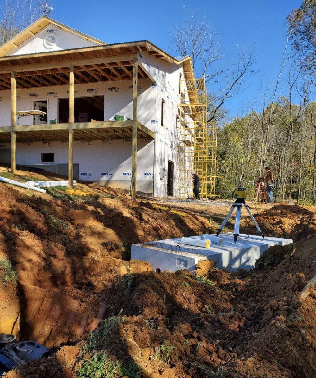 Clearing a Lot for a Home in Blairsville